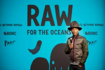 Pharrell Williams disegna << Raw for the Ocean>> in collaborazione con G-Star