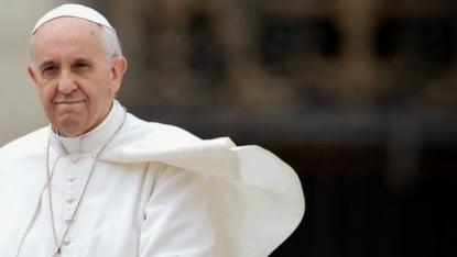 Papa Francesco a Caserta