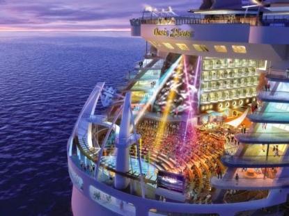 Oasis, la nave da crociera più grande che sia mai stata costruita