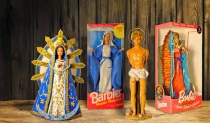 Barbie vestita da Madonna? e Ken da Gesù