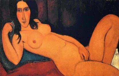 Amedeo Modigliani: Colli allungati e occhi spenti