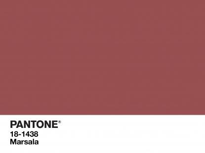 Marsala è il colore del 2015