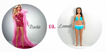 Lamilly la barbie brutta