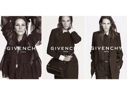 Julia Roberts for Givenchy s.s. 2015