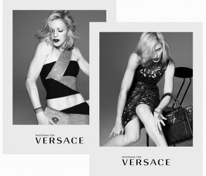 Madonna wear Versace  s.s.2015