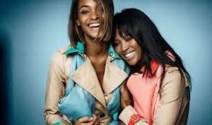 Naomi Campbell for Burberry