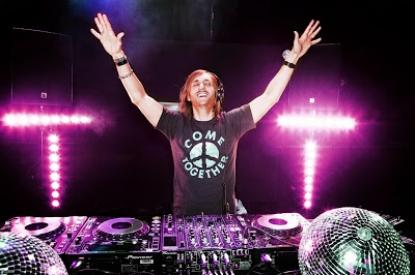David Guetta in Italia