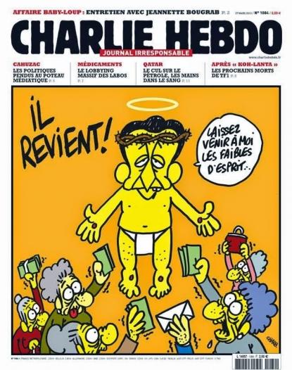 Charlie Hebdo: alcune delle vignette più divertenti