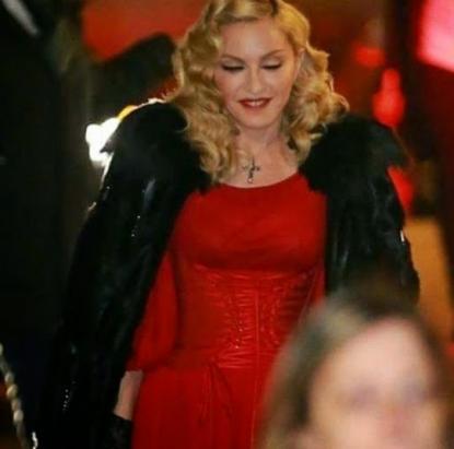 Madonna ospite da Fabio Fazio