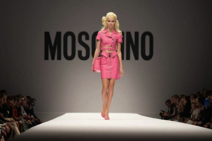 Moschino Barbie spring summer 2015