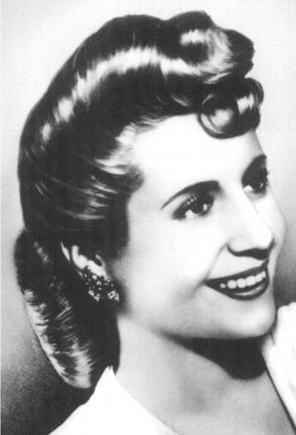 Storia di Evita Peron