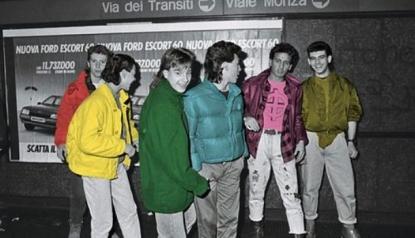 Negli store Porcaro di Aversa sono tornati i Paninari, direttamente dagli anni '80