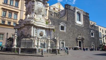 Giuseppe Moscati e la chiesa del Gesù Nuovo